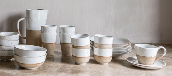 Stoneware sandy van earthware.nl