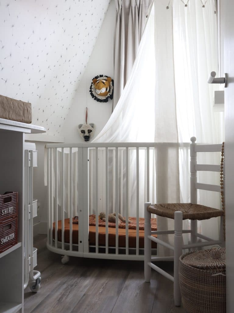 Kinderkamertje kleine ruimte effectief indelen