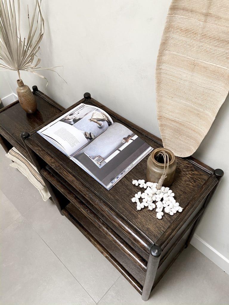 Herfstproof interieur in bruin tinten en natuurlijke materialen met Bohemian touch accessoires