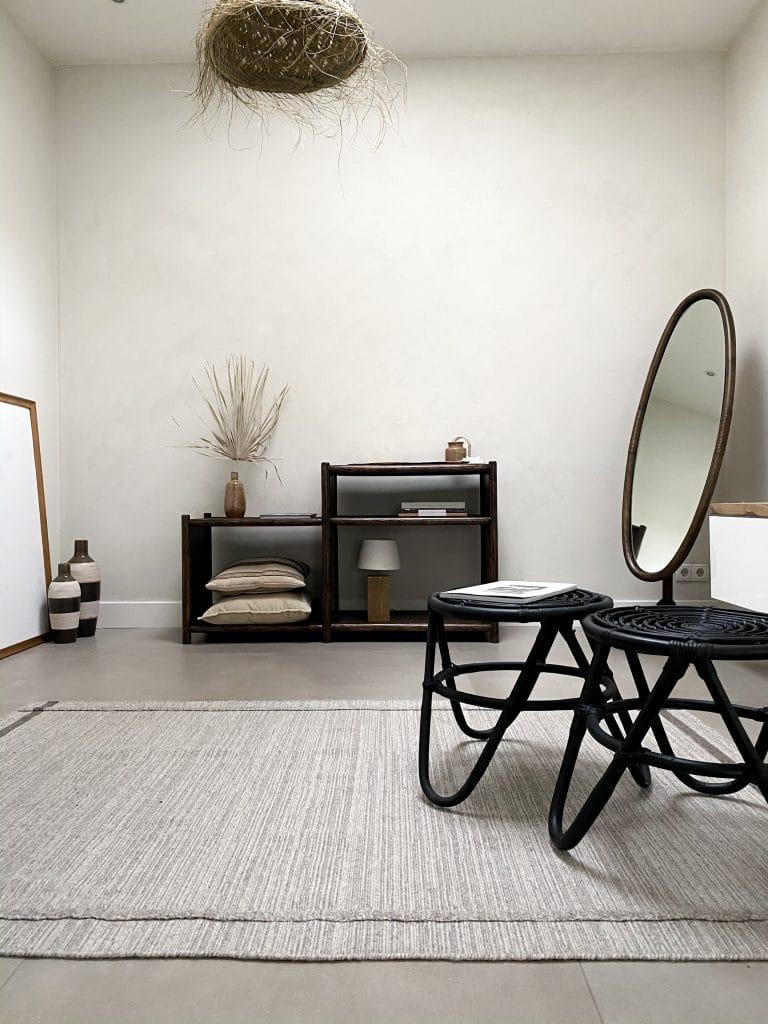 Herfstproof interieur in bruin tinten en natuurlijke materialen met Bohemian touch overzicht