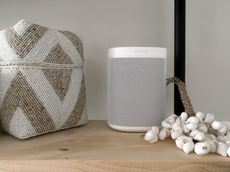 Cadeautip interieurliefhebber: een Sonos speaker